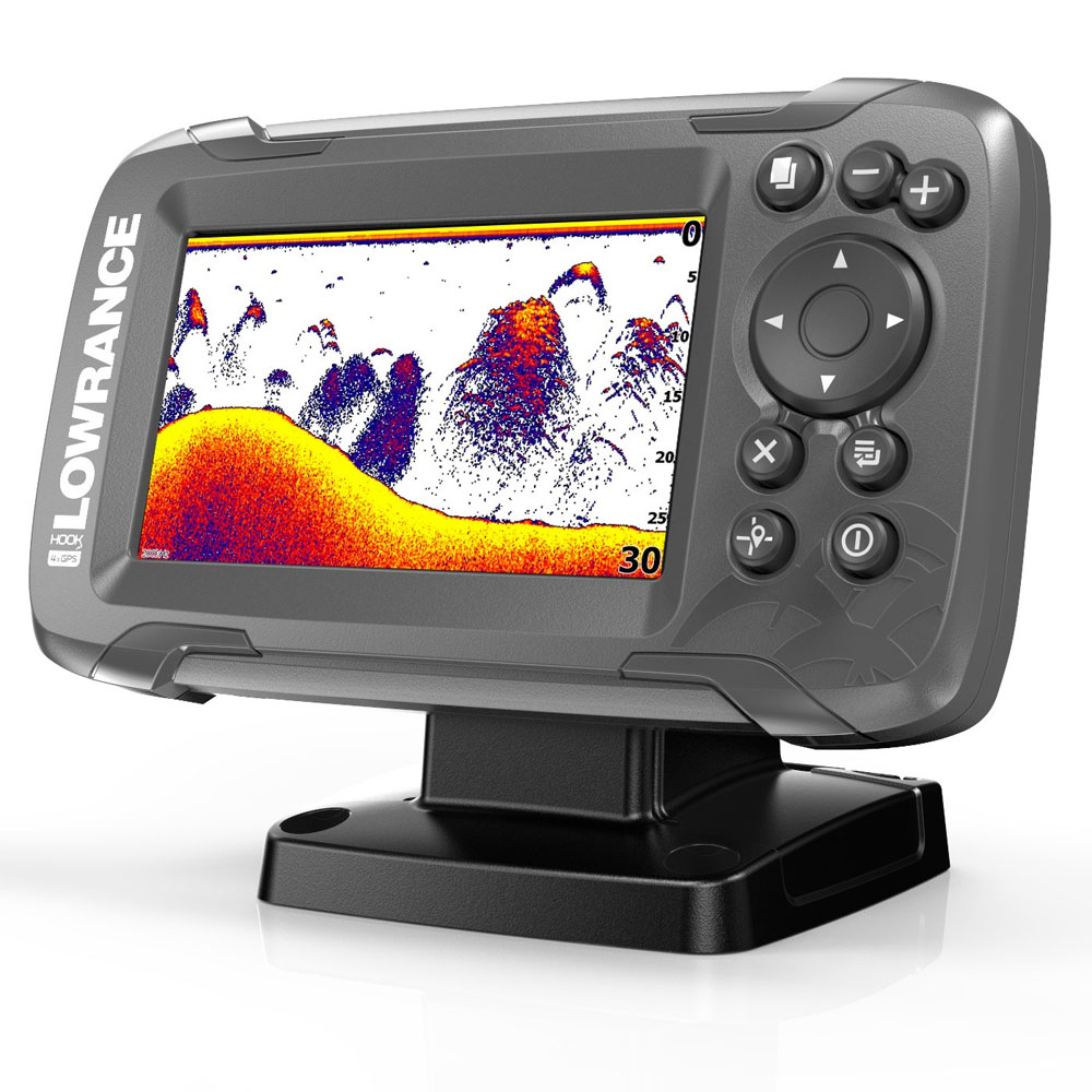 Эхолот Lowrance Hook2-4x with Bullet Transducer and GPS Plotter